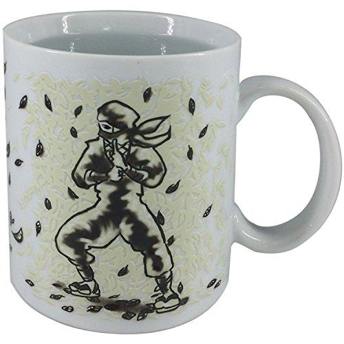 [Iroha-Do Works] NINJA Heat Color Change Mug Cup (Leaf)