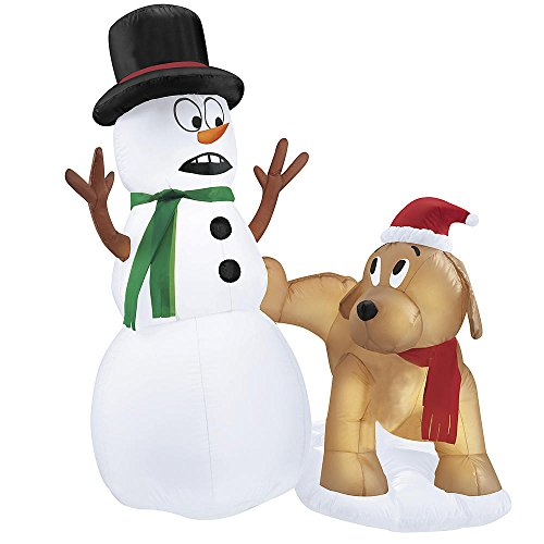 Outdoor Led Lighted Snowman