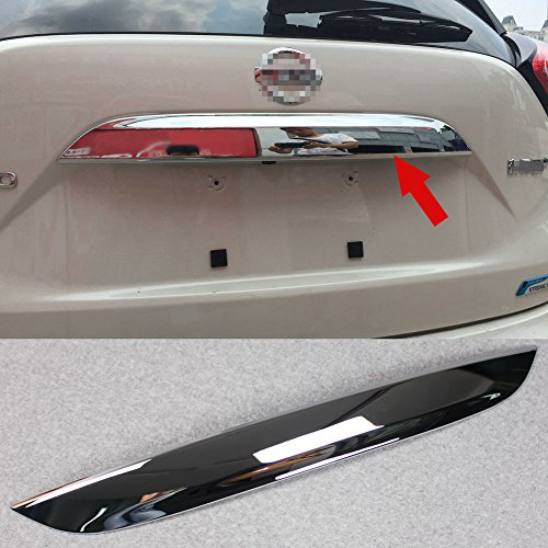 o 2015 2016 2017 2018 Chrome Rear Trunk Lid Cover Molding Trim ABS (Chrome Trunk Lid Trim)