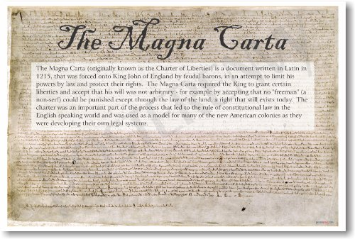 the impact of the magna carta and the american constitution by king john of england Taking a cue from the document more than five centuries later, american revolutionaries incorporated many of the magna carta's basic ideas into another important piece of parchment - the us constitution robin hood's king john reviled by all  feudalism was the framework by which all landowning was governed in england during medieval times it essentially granted the king control of all the land in his kingdom, which was worked by peasants and overseen by feudal barons.