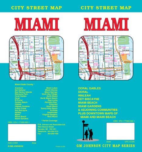 Miami, FL City Street Map - Outlets Miami Fl