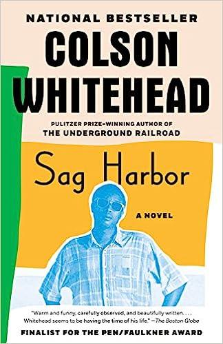 Sag Harbor Colson Whitehead 9780307455161 Amazoncom Books