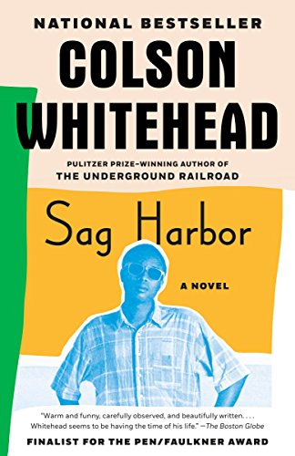Book cover from Sag Harbor by Colson Whitehead