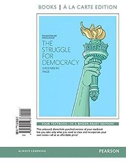 Amazon struggle for democracy the 2014 election edition struggle for democracy the 2014 elections and updates edition books a la carte fandeluxe Choice Image