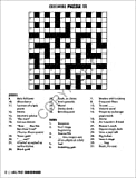 25 PACK: Large Print Crossword Puzzle Books for
