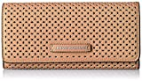 Apparel : A X Armani Exchange Perforated Pebble Pu Continental Wallet Wallet
