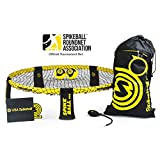 Spikeball Pro Kit (Tournament Edition) - Includes Upgraded Stronger Playing Net, New Balls Designed to Add Spin, Portable Ball Pump, Backpack, Official Serving Line - As Seen on Shark Tank TV
