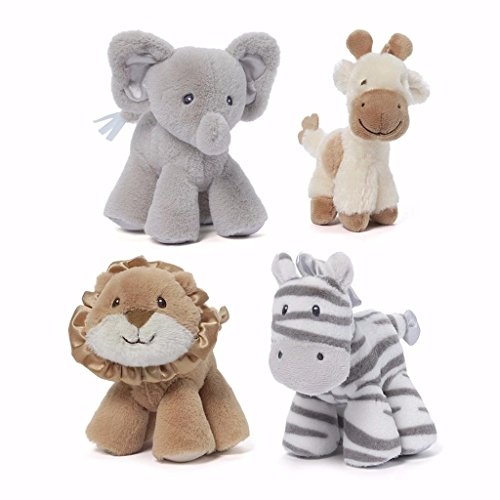 Gund Safari Rattle elephant giraffe product image