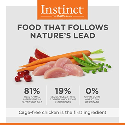 Instinct Original Grain Free Recipe with Real Chicken Natural Dry Cat Food by Nature's Variety, 11 lb. Bag by Instinct (Image #3)