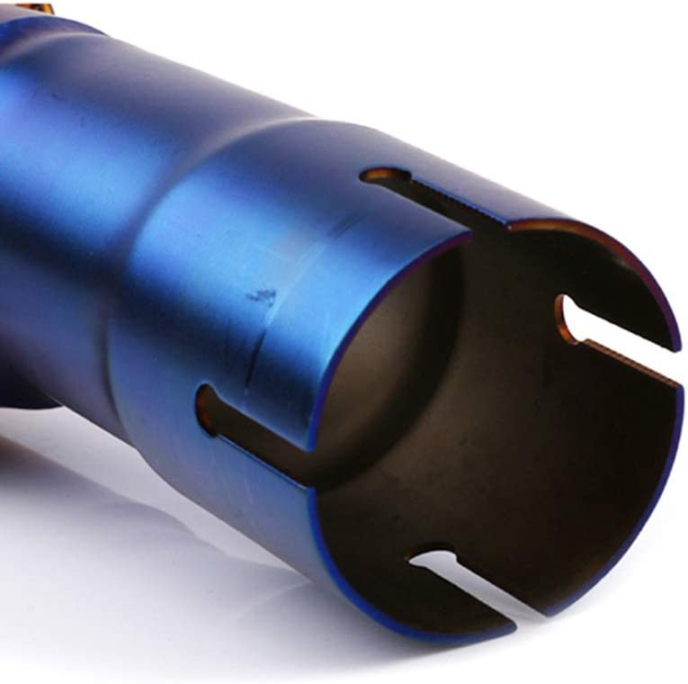 Section Centrale en Acier Inoxydable Tuyau de raccordement adapt/é for Yamaha XMAX250 300 400cc2017-18 Queue Modification d/échappement HUO FEI NIAO Tuyau d/échappement de Moto