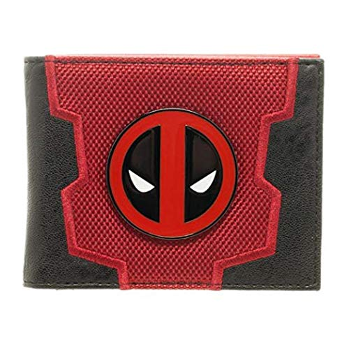 Marvel Comics Deadpool traje hasta caja Bifold Wallet