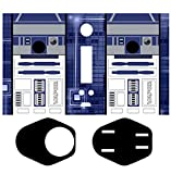 Skin-2-win Futuristic Robot Protective Vinyl Skin Wrap Sticker Decal for Wismec Reuleaux Rx200 Rx Tc MOD 200w 200 Watt Vape