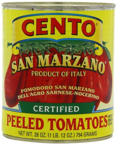 Cento San Marzano Tomatoes, 28-Ounce Can (Cento Italian Tomatoes)