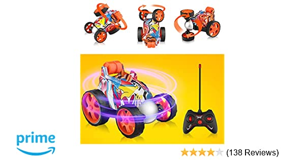 Car Transport Reviews >> Blasland Remote Control Car Rc Vehicle Four Wheel Stunt Car 360 Degree Rolling Rotating Rotation Stunt Car Toy Rc Stunt Toy Cars For Toddlers
