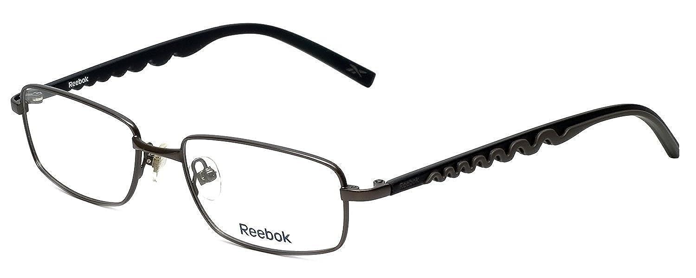 Reebok Designer Eyeglasses R1002 in Matte-Gunmetal 51mm Demo Lens