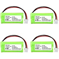 INSTEN 4 Ni-MH Battery Pack For VTech BT166342 BT266342 BT183342 BT283342 Cordless Home Phone