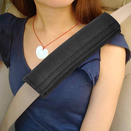 XWYAQT Asiento par autom/ático de Seguridad del Coche Cubierta de la Correa del Amortiguador Arn/és Caja del coj/ín del cintur/ón de la Correa de Hombro del coj/ín A6Q8T3 Color Name : For RECARO Blue