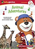 Baby Genius Animal Adventures DVD w/Bonus Music CD