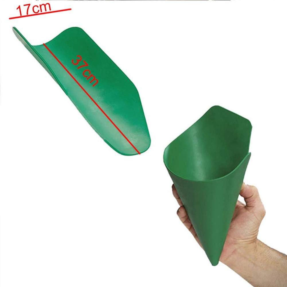 ZoneYan Herramienta de Drenaje Flexible Plegable Placa de Gu/ía de Aceite Herramienta de Drenaje Flexible Embudo de Aceite Herramienta de Drenaje de Aceite Flexible Embudo Plegable para Coche