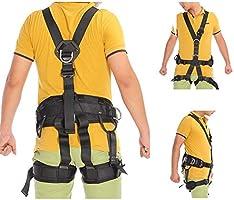 ZHDLJ Cinturones de Seguridad para Asiento, arnés de Escalada para ...