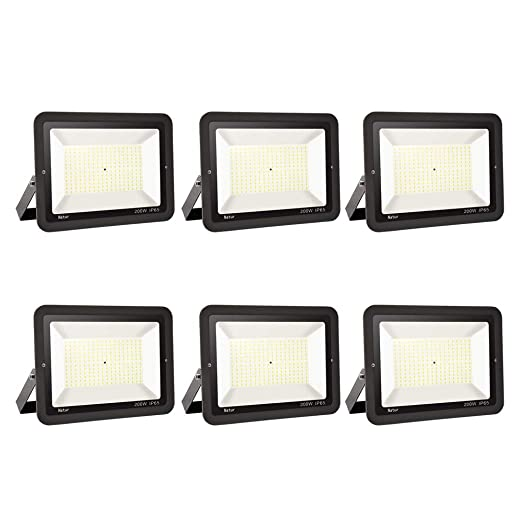 200W LED Foco exterior alto brillo Proyector led exterior de ...