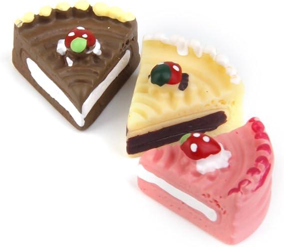 1:12 Maßstab Quadratisch Kuchen Mit Erdbeere Glasur Tumdee Puppenhaus Mini T1