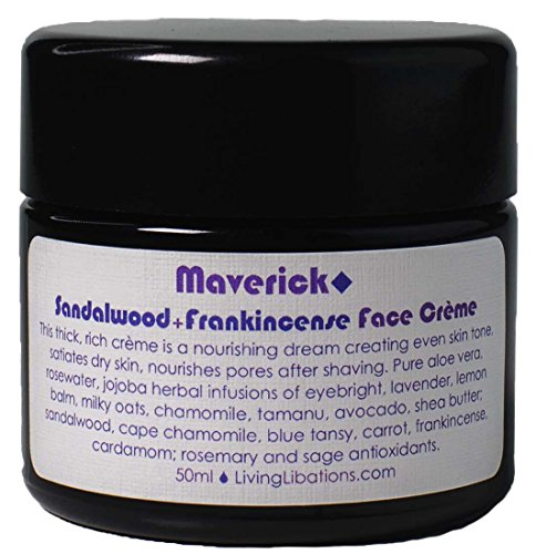 Living Libations - Organic/Wildcrafted Maverick Face Creme (1.69 oz/50 ml)