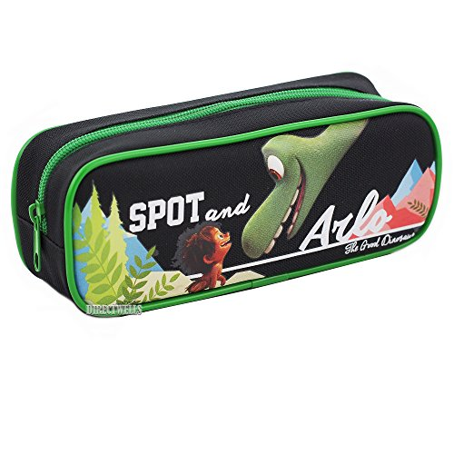 Disney Pixar Authentic Licensed The Good Dinosaur Pencil Case (Black)