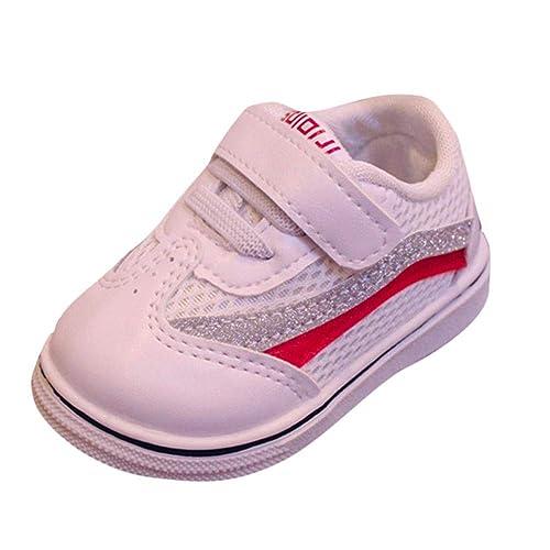 Zapatos Bebe,❤ Amlaiworld Zapatillas Deportivas para Niños Niñas bebé Zapatillas de Deporte con Suela Blanda y Malla Botas Zapatitos de Calzado para ...