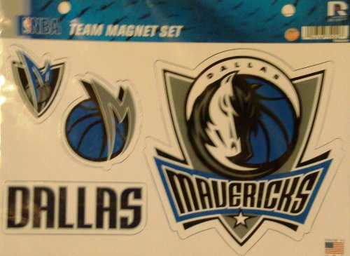 (Rico NBA Dallas Mavericks Team Magnet Set)
