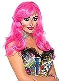 Forum Novelties Wig-Pop Art Katie Kapow, Pink, Standard