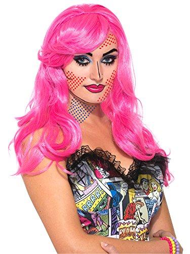 Forum Novelties Women's Wig-Pop Art Katie Kapow