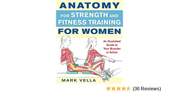 Anatomy For Strength And Fitness Training For Women Mark Vella