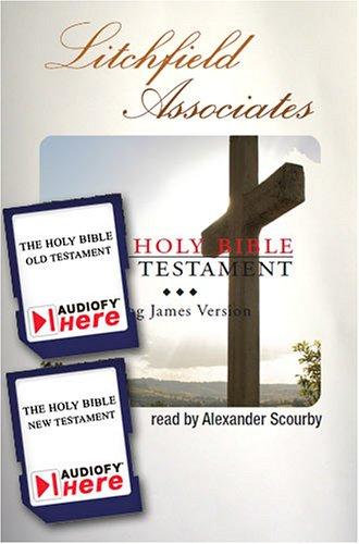 The Holy Bible (King James Version) Narrated By Alexander Scourby (Audiofy Digital Audiobook Chips)