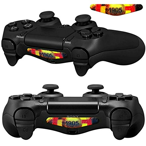 Mod Freakz Pair of LED Light Bar Skins 1905 Istanbul Turkey Club for PS4 Controllers