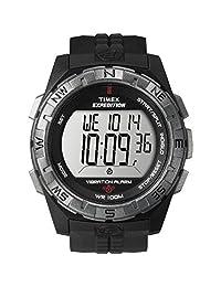 Timex T49851 - Reloj (Reloj de pulsera, Masculino, De plástico, Acero inoxidable)