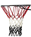 Basketball Net   NCAA & NBA Size   Fits Indoor and Outdoor Hoop/Goal   Replacement Netting for Official, Boys, Youth, Pool/Poolside Games. Blue, Yellow, Gold, White, Black & more by Fandom Nets