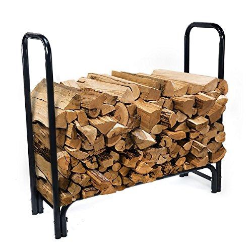 prosperlyusproduct-4-feet-outdoor-heavy-duty-steel-firewood-log-rack-wood-storage-holder-w-cover