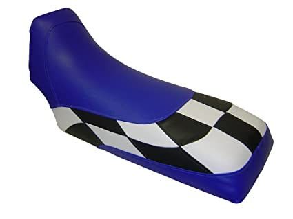Amazoncom Yamaha Banshee Checkerd Blue Seat Cover Automotive