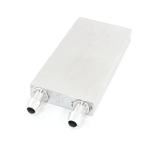 Gino Aluminium Water Liquid Block Thermoelectric Cooling Module Plate Motherboards at amazon