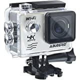 ABLEGRID AG9000 30-meter Waterproof 16MP 2.0 inch WIFI Ultra-HD 4K Sports Action Camera with 170° wide Angle Lens Silver