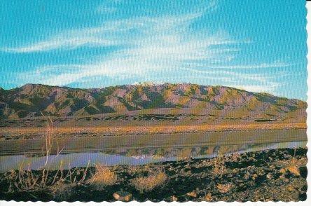 Unused Postcard Death Valley National Monument California