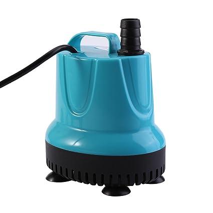 Fdit Socialme-EU Bomba Sumergible de Agua para Acuario Tanque de Peces Estanque (EU