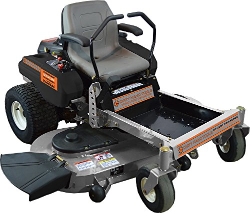 Dirty Hand Tools Zero Turn Mower with 23hp Kawasaki Engine and 60'' Cutting Width by Dirty Hand Tools