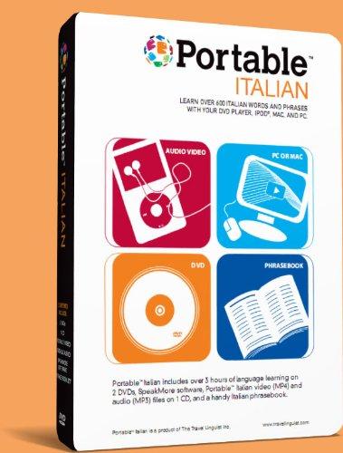 Portable Italian for iPad, iPhone, Mac or PC. Learn Italian Anywhere Anytime. (Dvd Portable Mac)