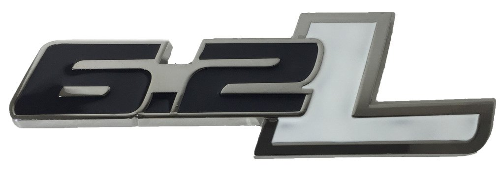 Chevrolet Decal Replaces OEM For Ford Badge Name Plate x1 6.2L Emblem