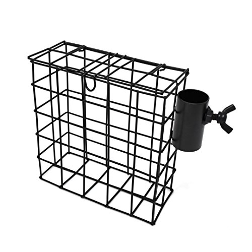 GrayBunny GB-6870 Suet Cage Accessory For Backyard Bird Feeding Stations