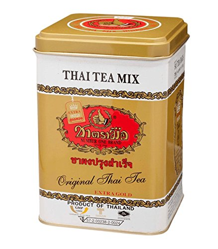 Bag Number - The Original Thai Tea Extra Gold - Number One Brand 5 Oz (125g) - 50 Tea Bag