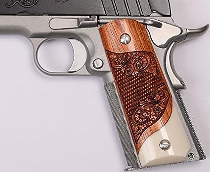 Amazon com : 1911 Full Size, Government, Commander Grips Colt