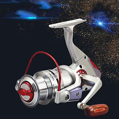 Carrete de pesca giratoria alarma pesca carrete inteligente dispositivo de pesca automático pesca eléctrica carrete de...